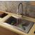 Vigo Stainless Steel Spring Pull-Out Spray Kitchen Faucet