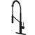 Matte Black Faucet with Deck Plate - Product View