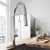 Vigo Chrome with Deck Plate Lifestyle View
