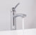 "Vigo Milo Vessel Bathroom Faucet in Chrome, Faucet Height: 12-1/2"", Spout Height: 9-1/2"", Spout Reach: 5"""