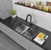 "All-In-One 32"" Sink Set w/ Graham Faucet"