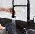 """30"""" Sink Set w/ Edison Faucet Illustration 2"""