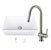 """30"""" Sink Set w/ Gramercy Faucet Included Items"""