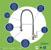 "33"" Sink Set w/ Edison Faucet Product Detailed Info"