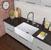 """33"""" Sink Set w/ Edison Faucet Illustration 1"""