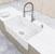 """36"""" Sink Set w/ Edison Faucet Illustration 2"""