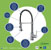 "36"" Sink Set w/ Edison Faucet Product Detailed Info"