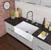 """36"""" Sink Set w/ Edison Faucet Illustration"""