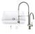 """33"""" Sink Set w/ Dresden Faucet Included Items"""