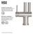 """33"""" Sink Set w/ Dresden Faucet Product Detailed Info 4"""