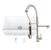 "36"" Sink Set w/ Zurich Faucet Included Items w/ Soap Dispenser"