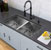 "All-In-One 32"" Sink Set w/ Edison Faucet"