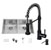"32"" Sink Set w/ Edison Faucet Included Items"