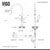VG15762 Set Faucet Specifications