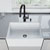 Sink and Gramercy Pull-Down Faucet Close-up