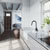 Sink and Gramercy Pull-Down Faucet Lifestyle 1