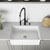 Sink and Livingston Magnetic Faucet Closeup