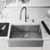 30'' Sink w/ Greenwich Faucet in Stainless Steel