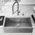 36'' Sink w/ Norwood Faucet in Stainless Steel