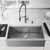 36'' Sink w/ Livingston Faucet in Stainless Steel