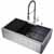 36'' Sink w/ Edison Faucet in Chrome