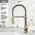 Brant Faucet in Matte Gold