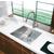 Vigo 23-inch Undermount Stainless Steel 16 Gauge Single Bowl Kitchen Sink
