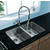 Vigo 29-inch Undermount Stainless Steel 18 Gauge Double Bowl Kitchen Sink