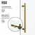 60x66'' Matte Gold Customization