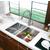 Vigo 29-inch Undermount Stainless Steel 16 Gauge Stainless Steel kitchen sink