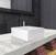 """Vigo Dianthus Matte Stone Vessel Bathroom Sink Set with Milo Vessel Faucet in Antique Rubbed Bronze, 14-1/2"""" W x 14-1/2"""" D x 5"""" H"""