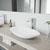 Vigo Sink with Norfolk Faucet Lifestyle View 1