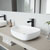 VGT946 Sink Set w/ Peony Faucet Matte Black