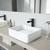 VGT947 Sink Set w/ Amada Faucet Matte Black