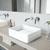 VGT951 Sink Set w/ Aldous Faucet Chrome
