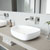VGT979 Sink Set w/ Atticus Faucet Brushed Nickel