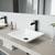 VGT984 Sink Set w/ Niko Faucet Matte Black