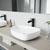 VGT985 Sink Set w/ Niko Faucet Matte Black