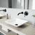VGT992 Sink Set w/ Olus Faucet Matte Black