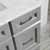 Grey - With Mirror - Drawers Close up 1