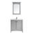 Vinnova Bathroom Vanity 33'' Display View 1