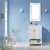 Vinnova Bathroom Vanity 28'' Wide Lifestyle View Front White