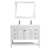 Vinnova Bathroom Vanity 48'' Wide Display View Front White