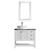 Vinnova Bathroom Vanity 36'' Display View Front White