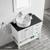 Vinnova Bathroom Vanity 36'' Lifestyle View Top White