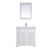 Vinnova Bathroom Vanity Display View White