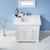 Vinnova Bathroom Vanity Lifestyle View Top White