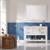 Vinnova Bathroom Vanity 48'' Lifestyle View Front White