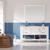 Vinnova Bathroom Vanity 60'' Lifestyle View Front White