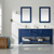 Blue Lifestyle Image with Mirror